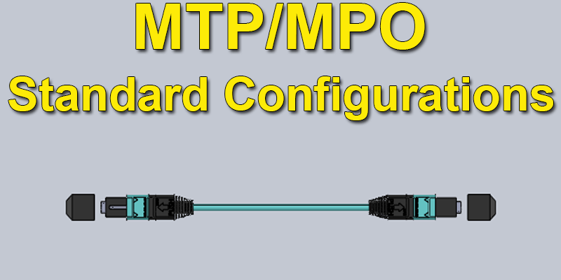 Configuration 8 MPO-MPO 12 Pin 8 Fiber to 12 Pin 8 Fiber 40G Method A