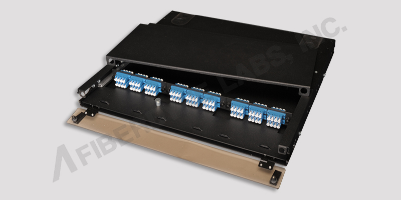 High Density 1U Rack Mount Fiber Distribution Box
