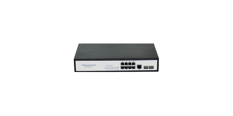 8-Port Gigabit Managed Switch with 2 SFP Slots